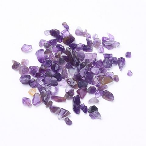Chips - Natural Amethyst 4~19mm - 50g